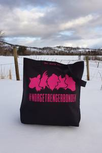 Bilde av Handlenett/strikkenett #norgetrengerbonden, sort